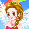 Pretty Autumn Angel